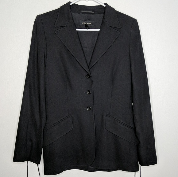 Escada Jackets & Blazers - Escada lace up blazer